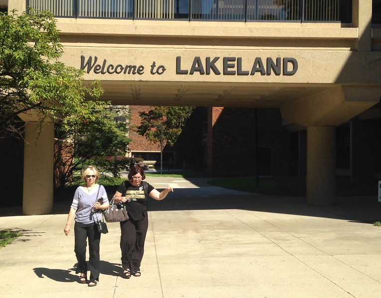 Main entry. Lakeland Community College