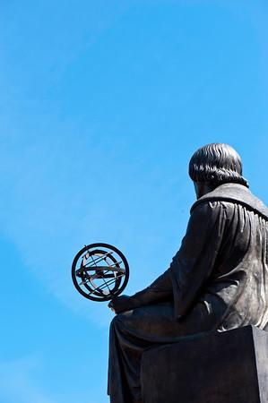 Mikolaj Kopernik Monument, Ulica Nowy Swiat, Warsaw, Poland
