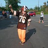"Tim Purchase (a.k.a. Pit Dawg) performs at Brownsbackers charity events throughout the football season. He deems himself a ""superfan"" and claims he has been honored as a ""Tailgater Hall of Famer"" by Brownsbackers groups. (Jean Bonchak for The News-Herald)"
