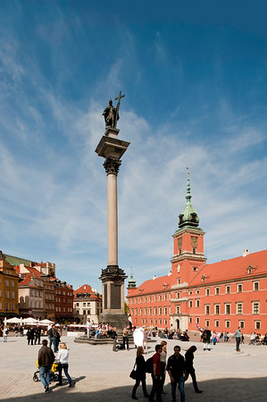 Royal Castle and Old Town, Warsaw, Poland