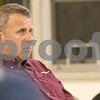 Sam Buckner for Shaw Media.<br /> Cohen Barnes sits in the TIF meeting on Tuesday September 19, 2017. Barnes spoke at the meeting during the public comment section.