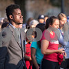Sam Buckner for Shaw Media.<br /> William Saunders listens to the speakers at the Unity March on Tuesday September 19, 2017.