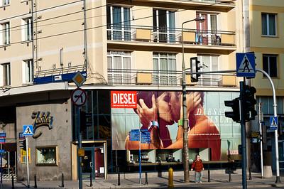 Street scene, Warsaw, Poland