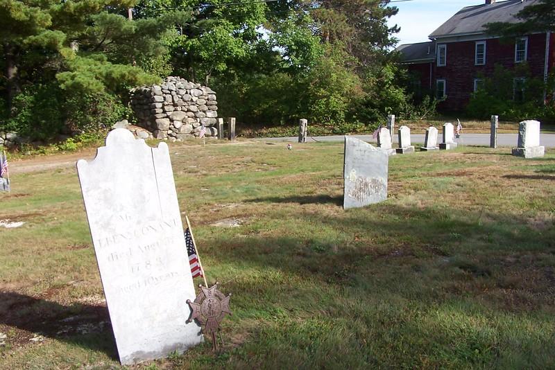 Grave of Ebenezer Conant