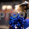 Sam Buckner for Shaw Media.<br /> Danyelle Crozier watches the end of the game on Saturday September 23, 2016.