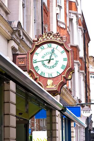 Waitrose store on Marylebone High Street, W1, London, United Kingdom