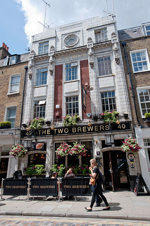 The Two Breweres Pub, Covent Garden, London, United Kingdom