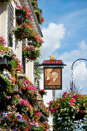 Fullers The Churchill Arms pub, Kensington, London, United Kingdom