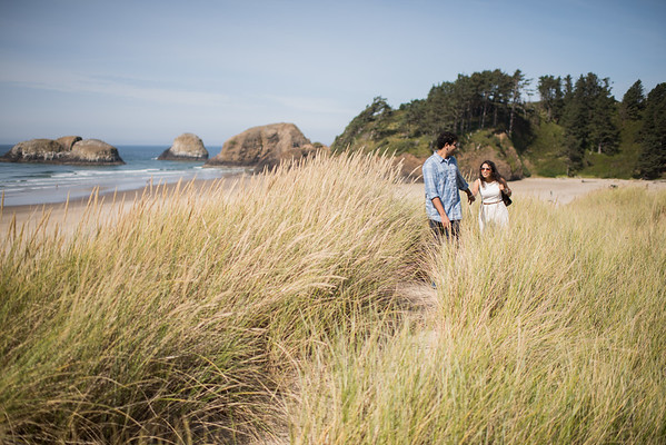 09/24/17 Cannon Beach Engagement Shoot