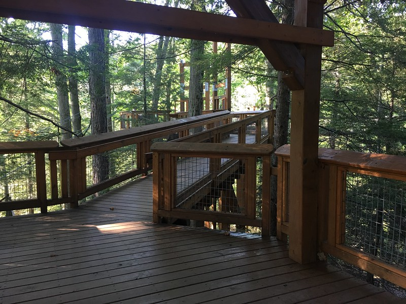 Kailee Leonard - The News-Herald <br> The Holden Arboretum sits on 3,600 acres and promotes the beauty and importance of trees and other woody plants. The grounds feature over 20 miles of trails that lead you through cultivated gardens and native forests.