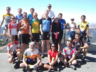 Glenn's 23rd annual Sun Microsystems ride up Mt. Hamilton.