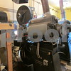 Two 35mm projectors are in the process of being restored to show old films at the Egyptian Theatre.