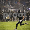 Sam Buckner for Shaw Media.<br /> Luke Ryan runs the ball into the end zone in a game against Kaneland on Friday September 30, 2016.