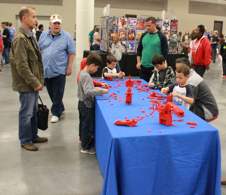 . Tawana Roberts � The News-Herald <br> Unimaginable Lego designs were on display at BrickUniverse in Cleveland. The two-day event was held at the Huntington Convention Center on Sept. 30.