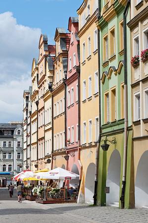 Old Town in Jelenia Gora, Lower Silesia, Poland