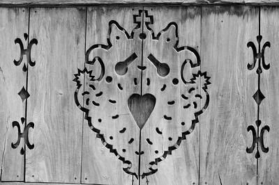 Traditional Zakopane style design, Zakopane, Podhale, Poland
