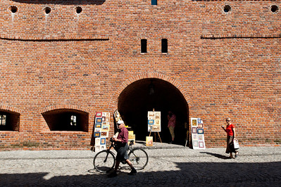 Barbican, Old Town, Warsaw, Poland