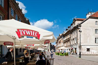 Bar, Old Town, Warsaw, Poland