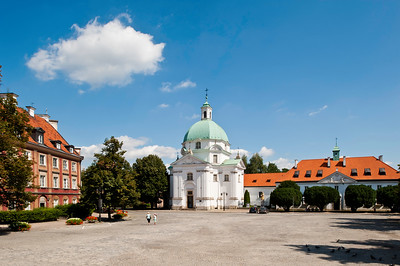 New Market Square, Old Town, Warsaw, Poland
