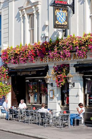 Pub on Gloucester Road, SW7, London, United Kingdom