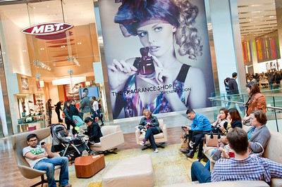 Westfield Stratford City shopping mall, E15, London, United Kingdom