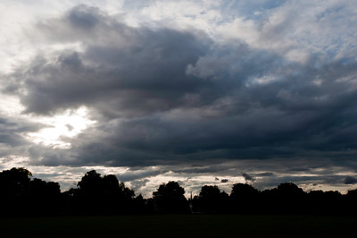 Clouds over Ealing Commom, London, United Kingdom