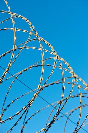 Barbed Wire, Hackney Wick, E9, London, United Kingdom