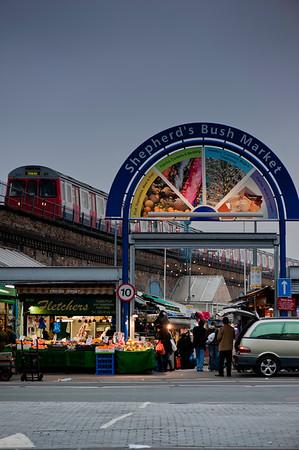 Shepherds Bush Market, W12, London, United Kingdom