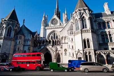 Royal Courts of Justice, Fleet Street, London, United Kingdom