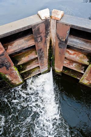 Old Ford Lock, Lee Navigation, East London, London, United Kingdom