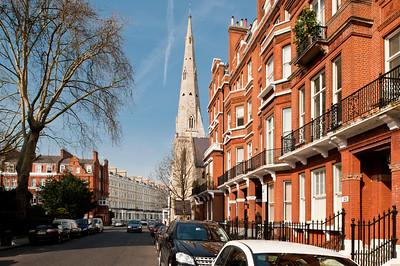 Armenian Church on Cranley Gardens, Kensington, London, United Kingdom