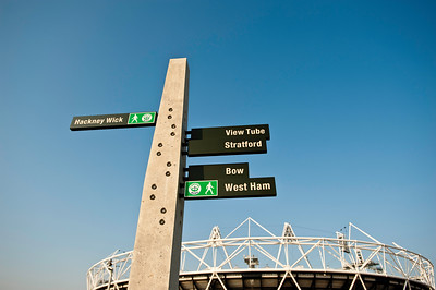 Information post by Olympic Park, London, United Kingdom