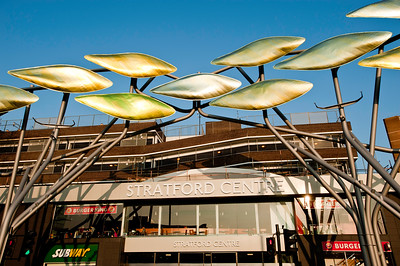 Modern art intallation, London, United Kingdom