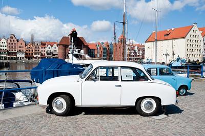 FSO Syrena parked by Marina, Gdansk, Poland