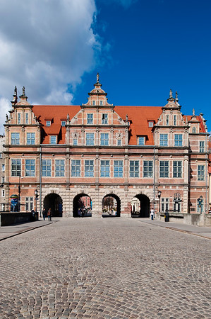 Green Gate, Old Town, Gdansk, Poland