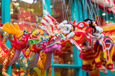 Shopping in Chinatown, London, United Kingdom