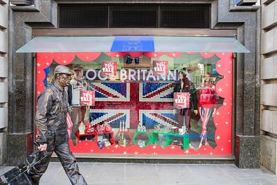 Souvenir shop by Piccadilly Circus, London, United Kingdom