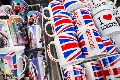 Souvenir shop on Piccadilly Circus, London, United Kingdom