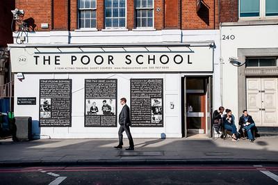 Kings Cross area, London, United Kingdom