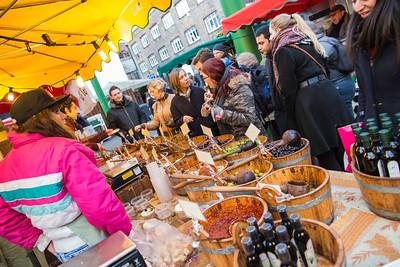 Borough Market on Saturday, London, United Kingdom