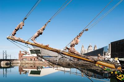 Albert Dock, Liverpool, Merseyside, United Kingdom