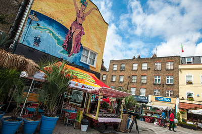 Cuban restaurant on Lower Marshes by Waterloo Station, London, United Kingdom