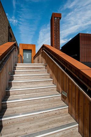 Architecture of Olympic Park, London, United Kingdom