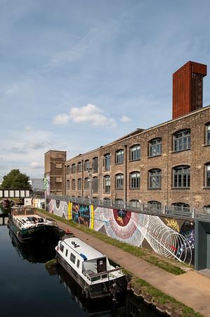 Lee River, Hackney, London, United Kingdom