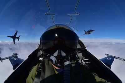 Mike Reyno, CT155 Hawk, RCAF
