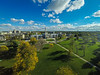 Aerial photos of buildings on Campus<br /> <br /> Photographer: Douglas Levere