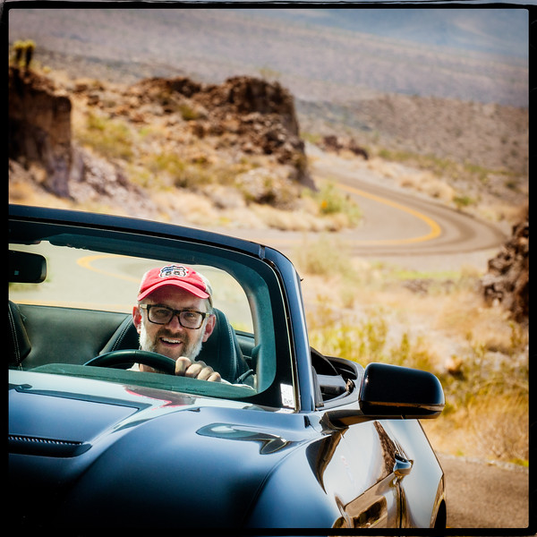 Photographer David J. Schwartz Getting His Kicks on 66 Photo Credit -  Bryan Thomas