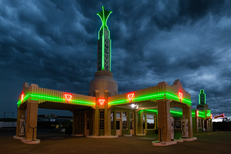 Conoco Tower Gas Station