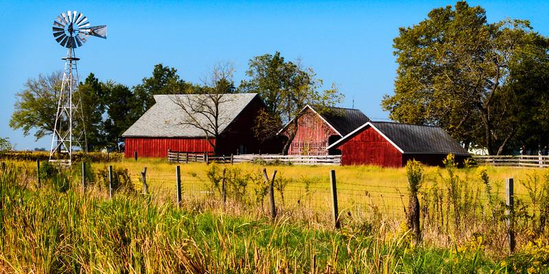 Litchfield Farm Scene