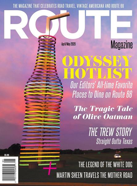 Route Magazine Cover 4-2020